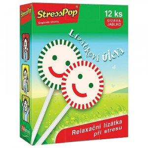 VITAHARMONY StressPop lízanky proti stresu 12 ks