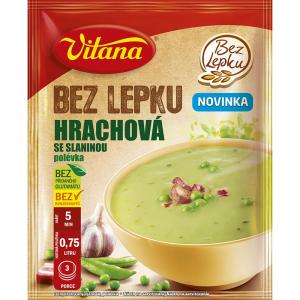 VITANA polievka bez lepku Hrachová so slaninou 74 g