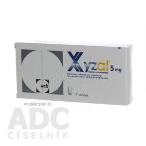 XYZAL tbl flm 5 mg 1x7 ks