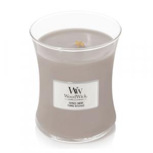 WOODWICK Vonná sviečka váza Sacred Smoke 275 g