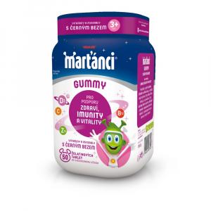 WALMARK Marťankovia Gummy 20 mg Čierna baza 50 kusov