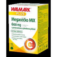 WALMARK Megacéčko Mix Vitamín C 600mg 90 tabliet