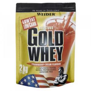 Gold Whey, srvátkový proteín, Weider, 2000 g - Vanilka