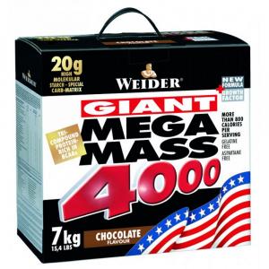 WEIDER Mega Mass 4000 Gainer Jahoda 7000 g