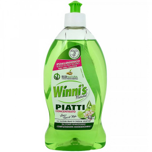 WINNI´S Piatti Lime – hypoalergénny umývací prostriedok na riad 500 ml