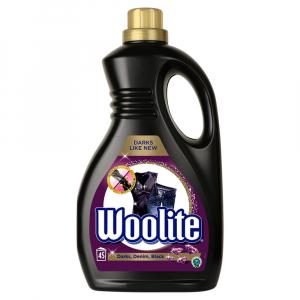 WOOLITE Darks, Denim, Black Tekutý prací prípravok 45 pracích dávok 2,7 l
