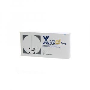 XYZAL 5 mg filmom obalené tablety 7 ks