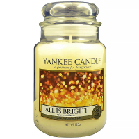 YANKEE CANDLE Classic All is Bright veľká 623 g