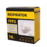 FFP2 Respirátor 10 ks biely