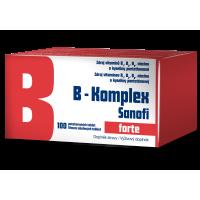 ZENTIVA B-komplex forte 100 dražé
